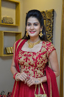 Jenny Honey in Stunning Dark Red Anarkali Dress at Splurge   Divalicious curtain raiser ~ Exclusive Celebrities Galleries 045.JPG
