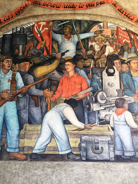 Janeville for Diego rivera mural 1929