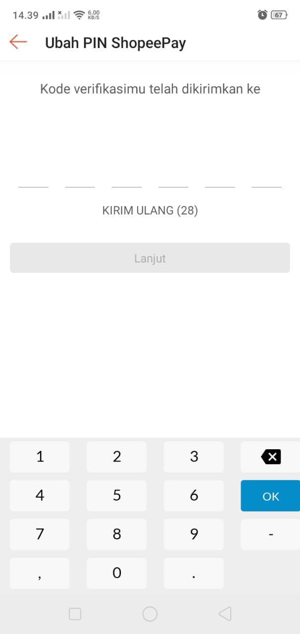Verifikasi Kode SMS