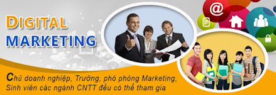 học digital marketing online ở đâu