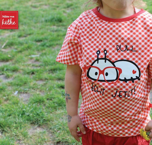 Shirt Fly von Fadenkäfer, Kopftuch Prinzessin Aleyna, Plott Emmapünktchen