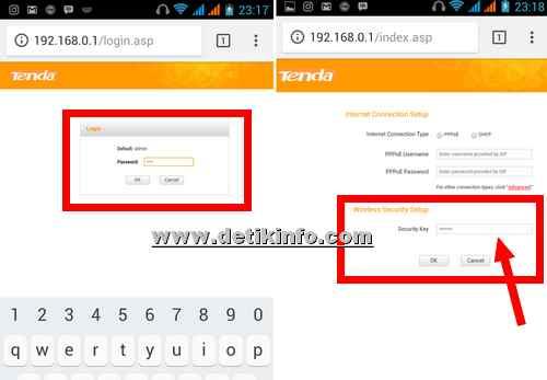 Cara Ubah sandi WiFi dan SSID Router Tenda dari HP Android   Detik ...