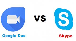 Google duo skype