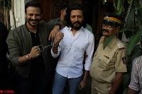 Vivek Oberoi and Riteish Deshmukh Promoting Their movie Bank Chor~  Exclusive 24.JPG