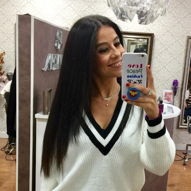 PERLA NEGRA, tratamiento capilar brillo extra para el pelo y alisado con queratina