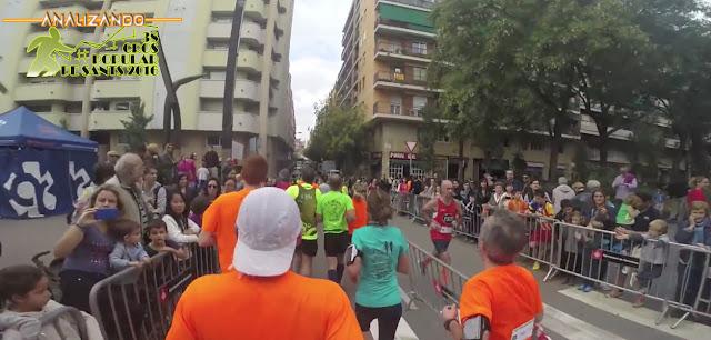 Analizando 38ª Cros Popular de Sants - Carrer Miguel Àngel