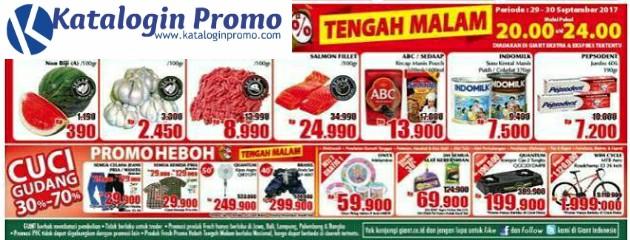 Katalog Giant Promo Heboh Tengah Malam Periode 29 – 30 September 2017