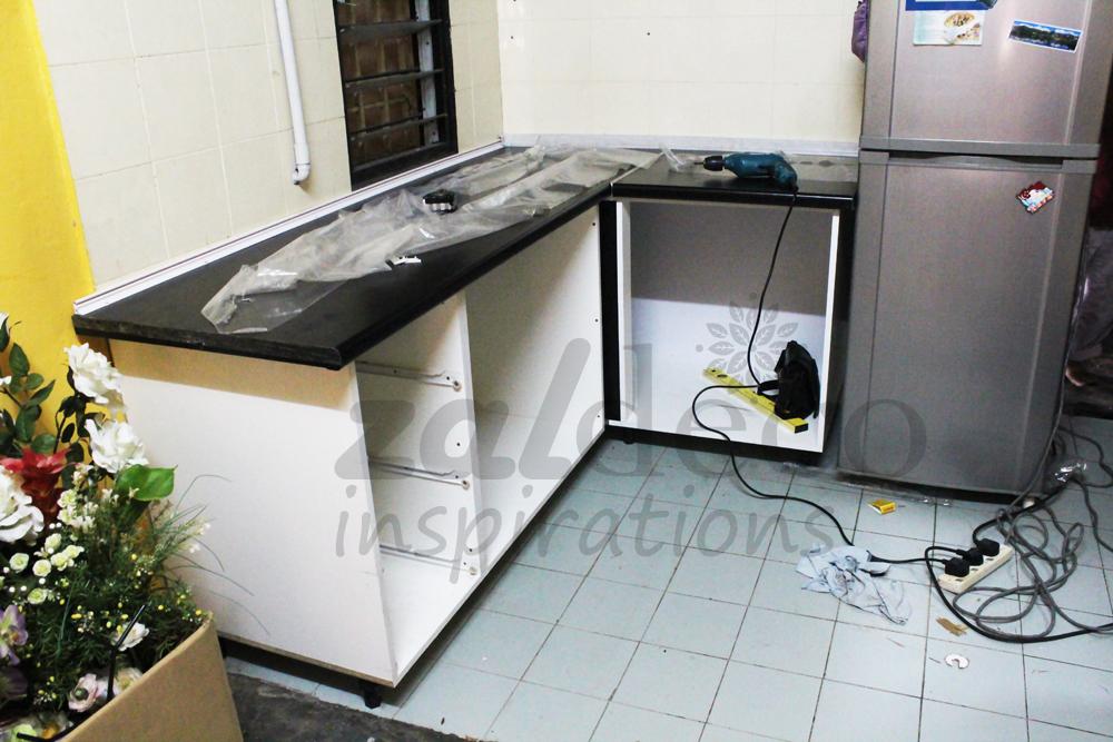 Pemasangan Kabinet Dapur Di Yen U5 Shah Alam