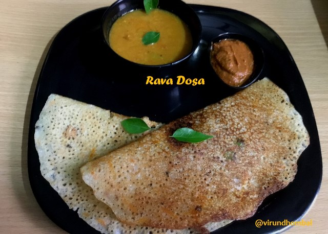 Rava Dosa | How to prepare Rava Dosa with step by step instructions | Quick South Indian Breakfast Dishes - Rava dosa is the common tiffin dish seen in most of the South Indian restaurants. There are various varieties of rava dosas like onion rava dosa, masala rava dosa, ghee rava dosa etc.. but the batter for all these varieties are same. You can create your own rava dosas with your imagination.