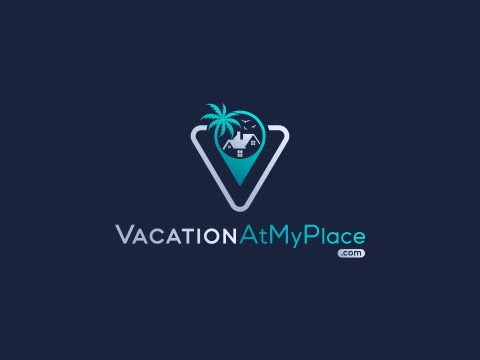 Logo Business Card Design Vacation At My Place