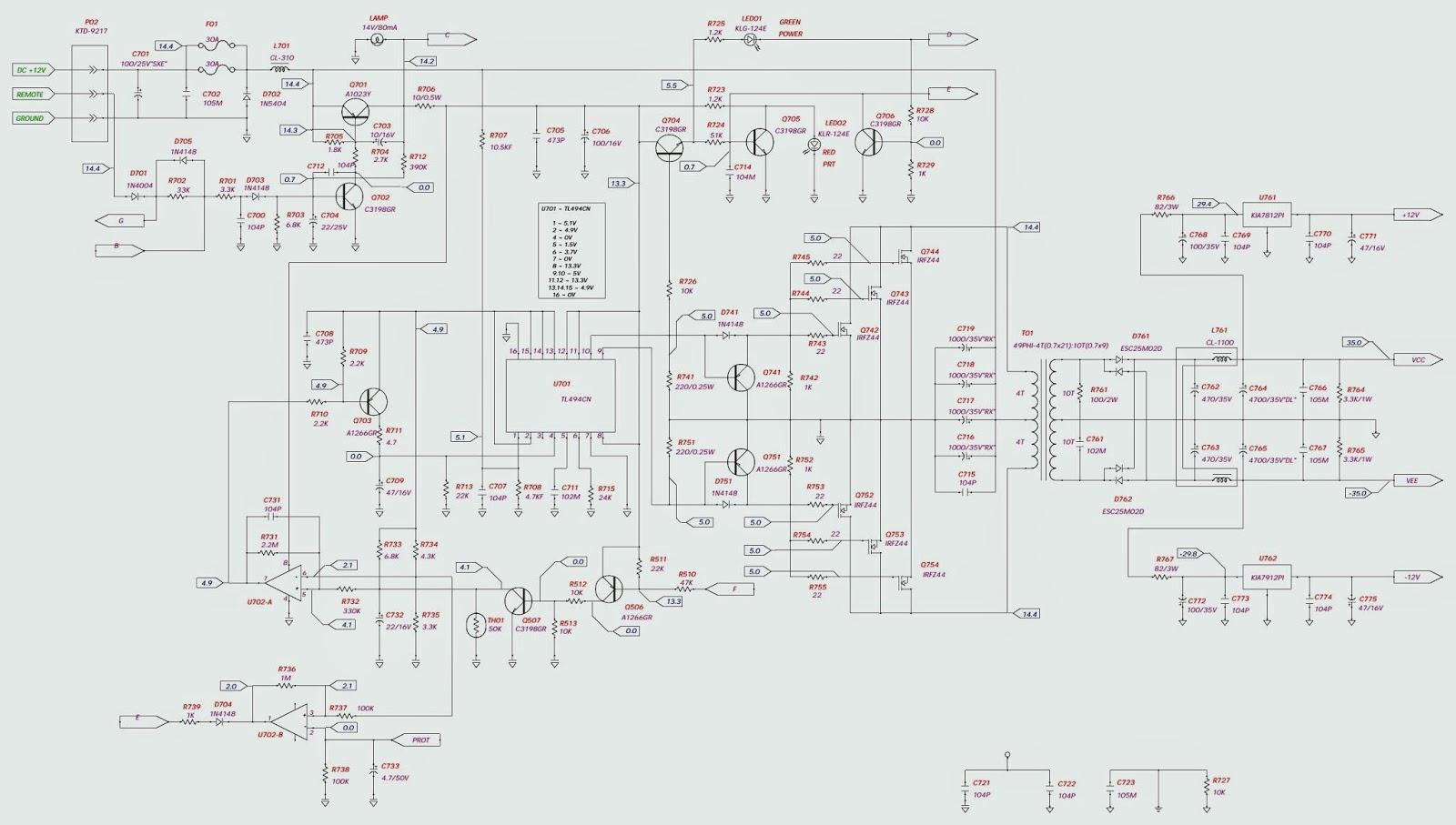bp600 1 jbl schematic circuit diagram wiring. Black Bedroom Furniture Sets. Home Design Ideas