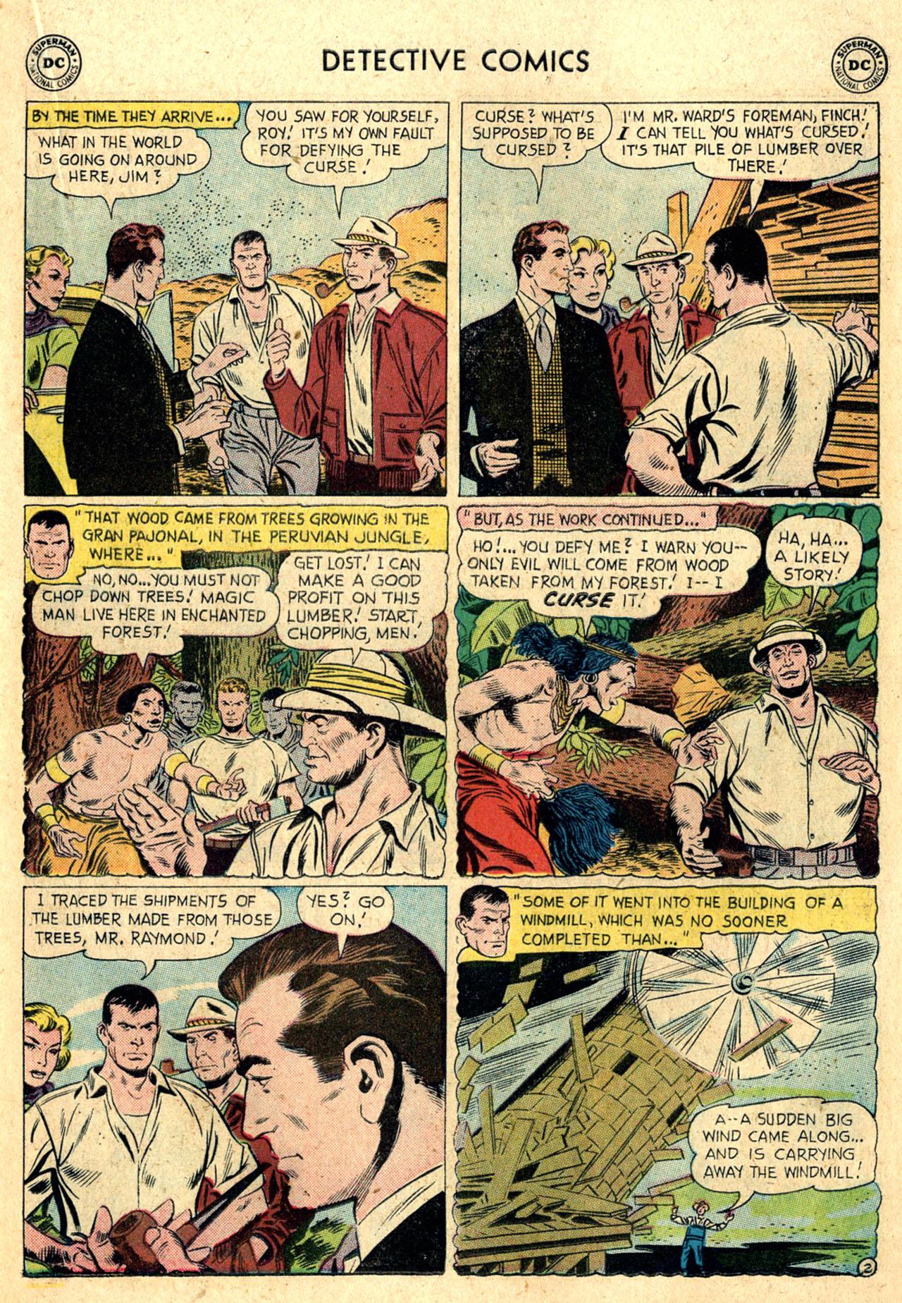 Read online Detective Comics (1937) comic -  Issue #260 - 19