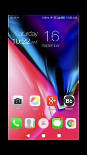 Iphone x Emui 4