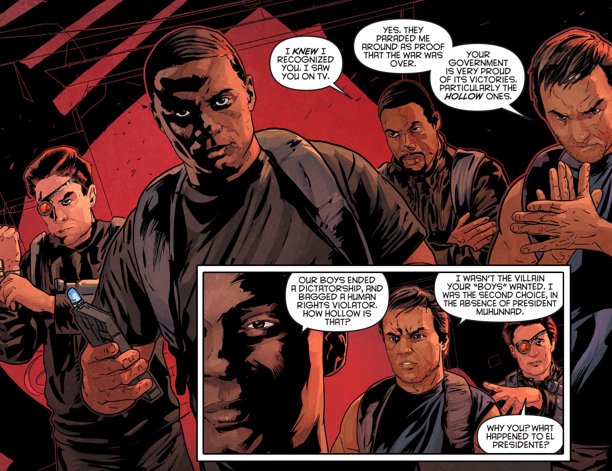 Read online Arrow: Season 2.5 [I] comic -  Issue #11 - 5