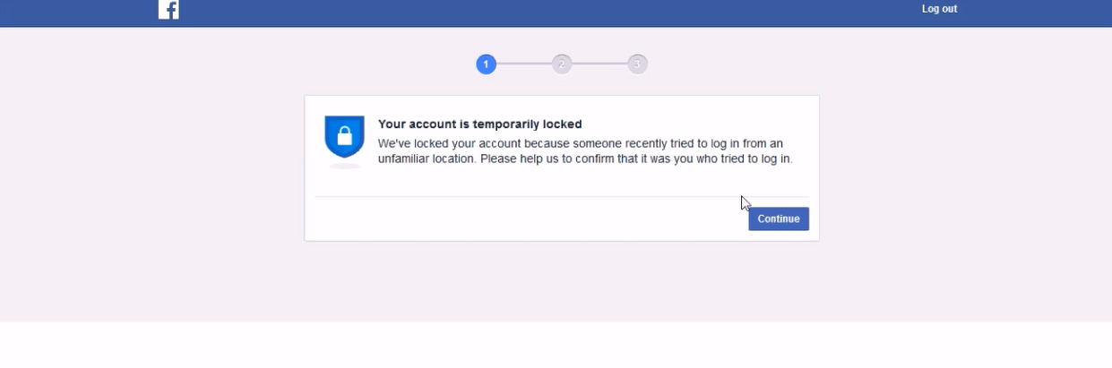 Fun And Tech Online Free Sharings Videos Tech And Much More How To Unlock Temporarily Locked Facebook Account In A Few Minutes