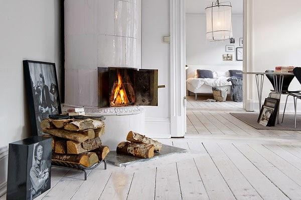 Bedwelming Witte houten vloer, white wash houten vloer of wit geverfde houten @HS72