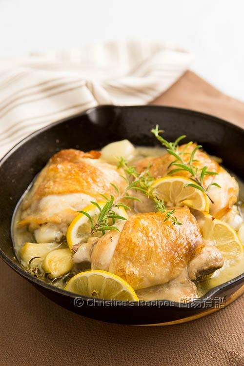 Lemon Garlic Chicken Thighs01