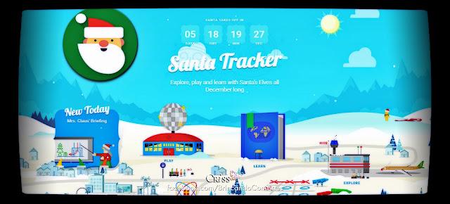 Monitorando Papai Noel com o Google