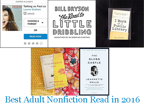 Best Adult Nonfiction Read in 2016