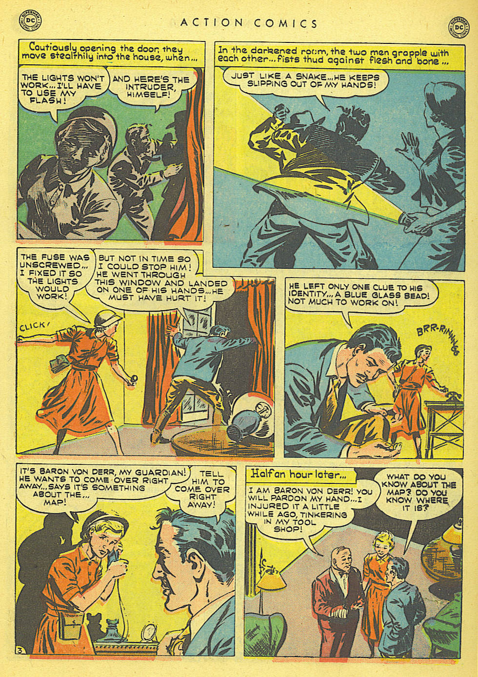 Read online Action Comics (1938) comic -  Issue #152 - 29