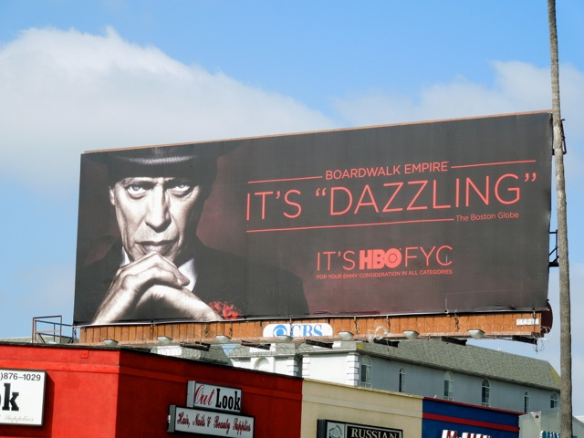 Boardwalk Empire 3 Dazzling Emmy billboard