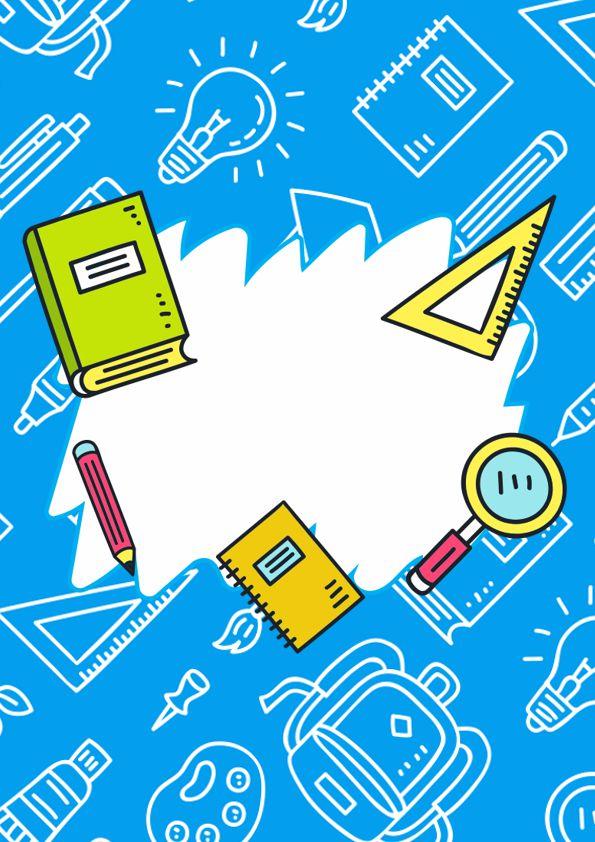 Portadas con etiquetas para cuadernos de historia, biología, matemática, comunicación, arte