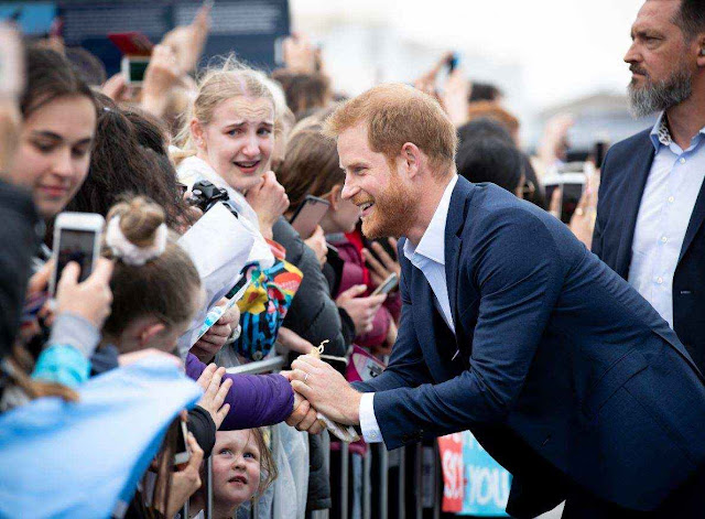 Earthquake rattles New Zealand as Harry and Meghan visit