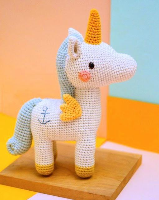 My Favorite Crochet Bear | Crochet unicorn, Crochet unicorn ... | 640x511
