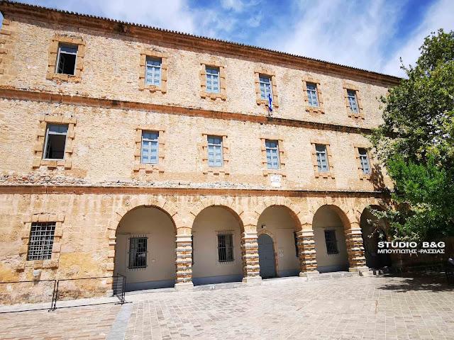 Ανοιχτό από σήμερα και πάλι το Αρχαιολογικό Μουσείο Ναυπλίου