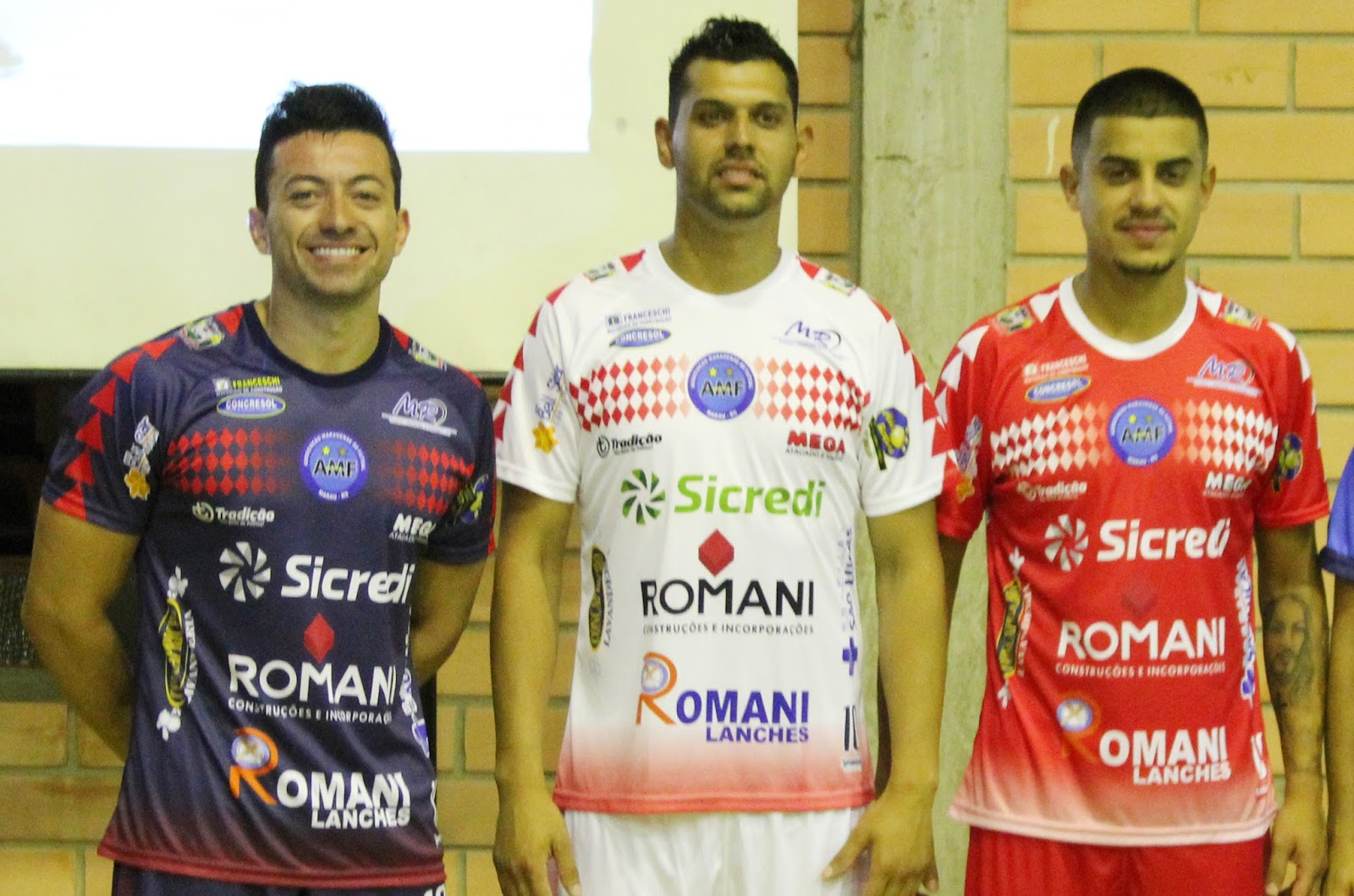 AMF DalPonte Futsal  Inicia venda das novas camisas da AMF 0d7cd74174c01