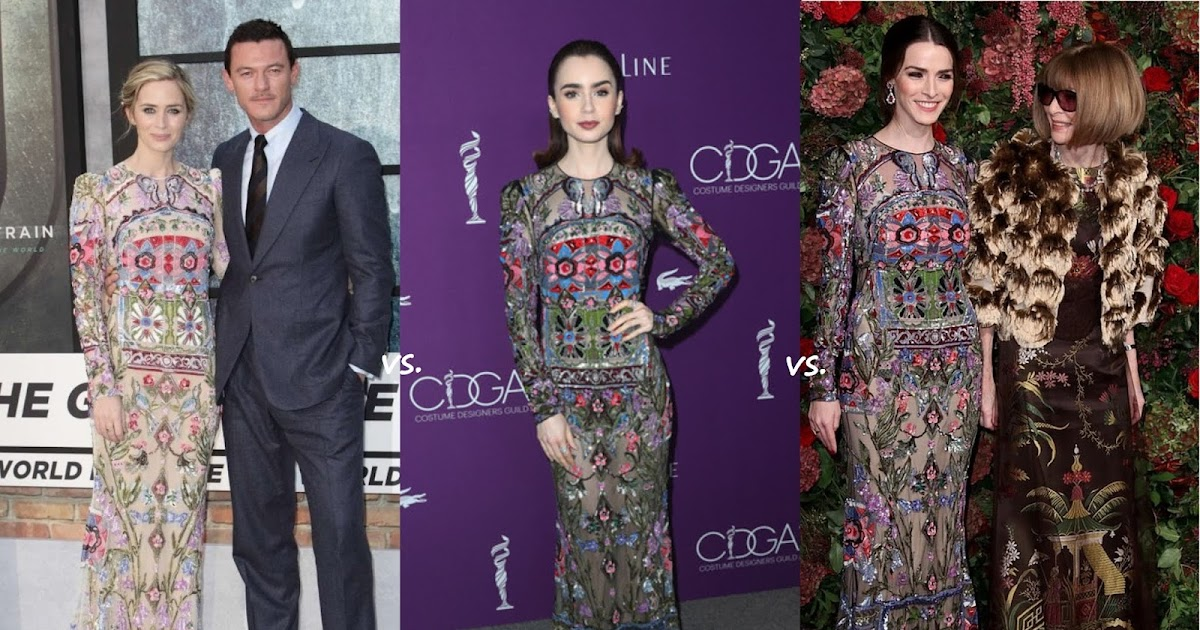 The Teeny tiny à Tout Faire: 👗Emily Blunt vs Lily Collins vs Bee Shaffer-Carrozzini