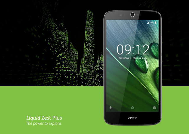 Review dan Harga Acer Liquid Zest Plus Baterai 5000 mah murah