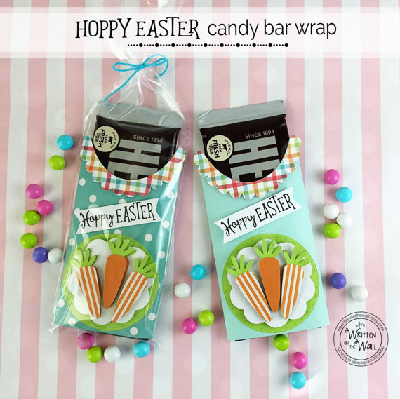 Hoppy Easter Candy Cards-Hershey Chocolate