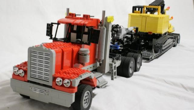 truk lego gandeng mainan