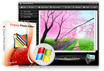 edit photo frame download