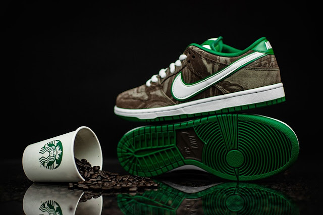 Nike SB Dunk Low X Starbucks
