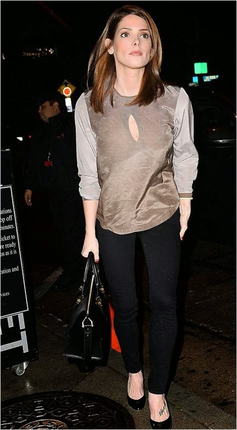 Ashley Greene in LA January 2015