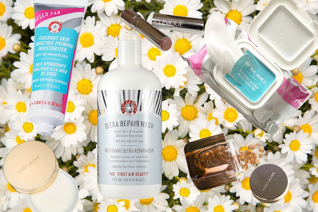 Skin Care Favorites; First Aid Beauty, Estee Lauder, Clinique