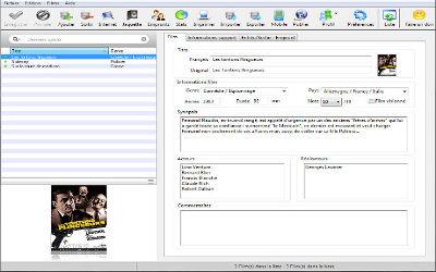 Filmotech - Logiciel de Gestion de Collection de Films sur Windows