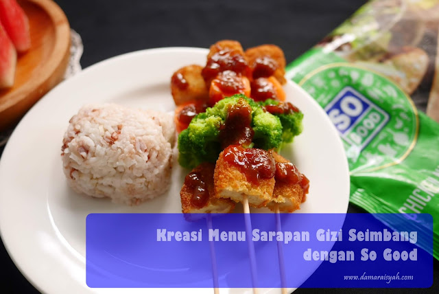 Menu piring gizi seimbang so good