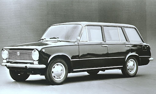 Fiat 124 Station Wagon 1966-1970 version