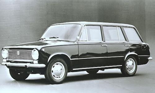 Fiat 124 Station Wagon 1966-1970 version