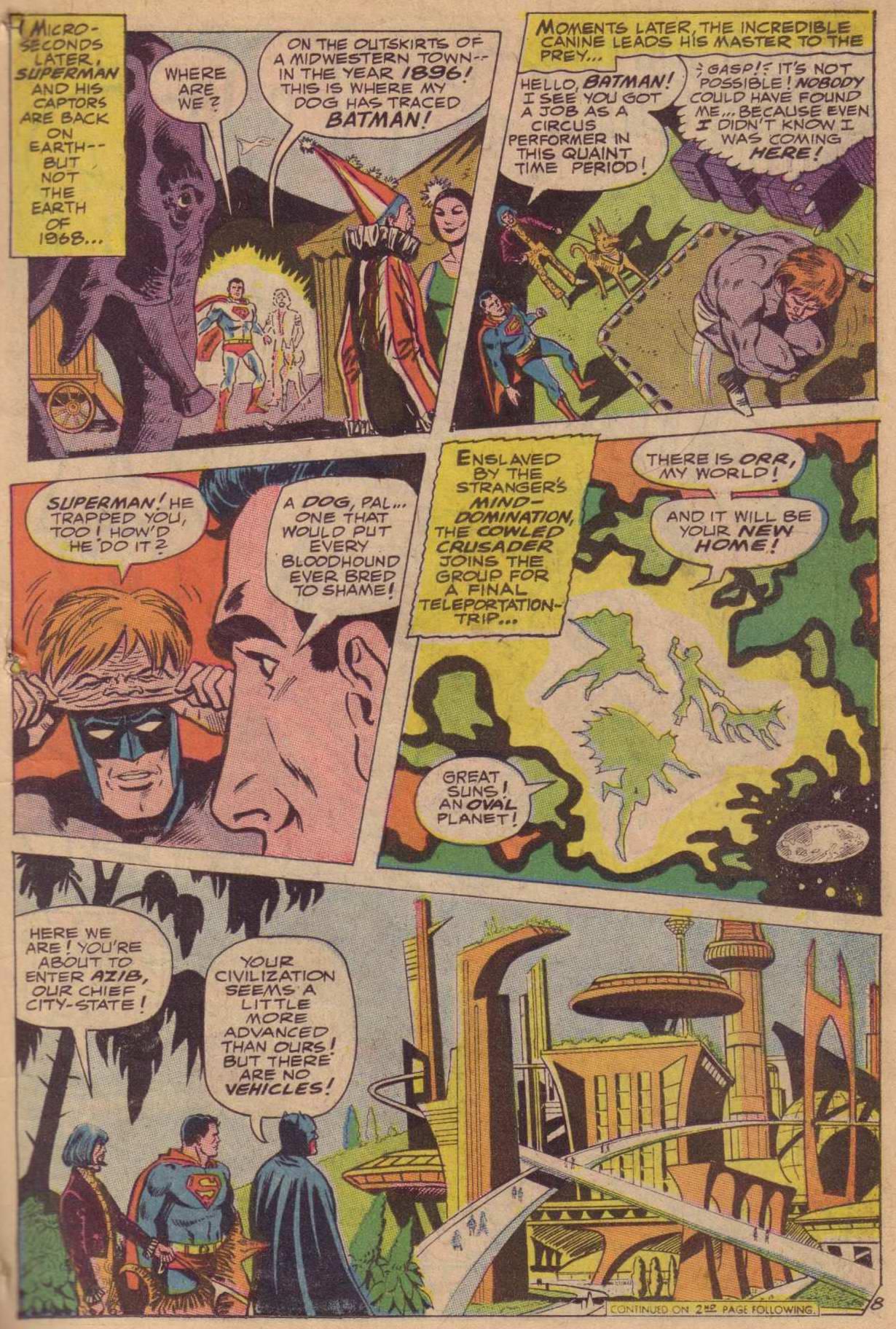 Read online World's Finest Comics comic -  Issue #181 - 9