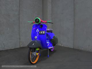 Vespa 946 Sidecar
