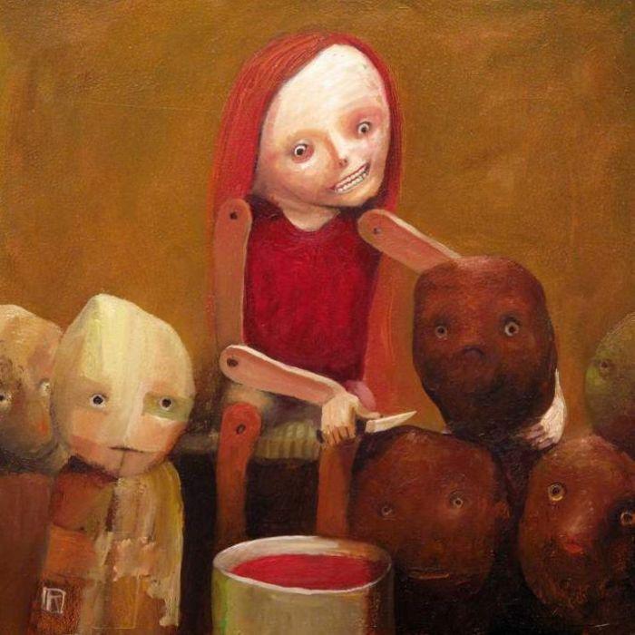 Польский художник. Krzysztof Iwin