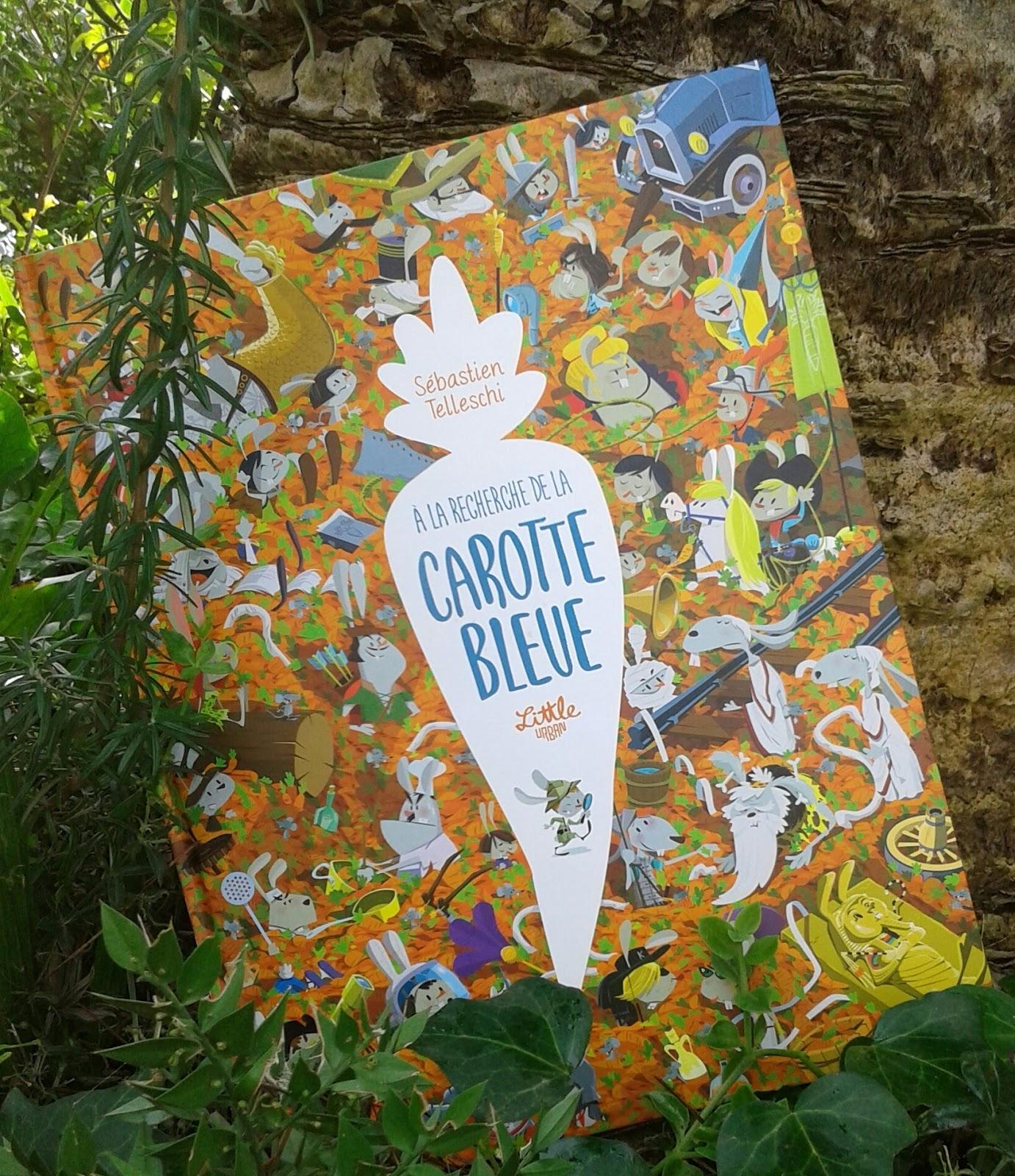 Carotte Bleue se rapportant à marque-pages, buvard, pense-bêtes & cie : octobre 2016