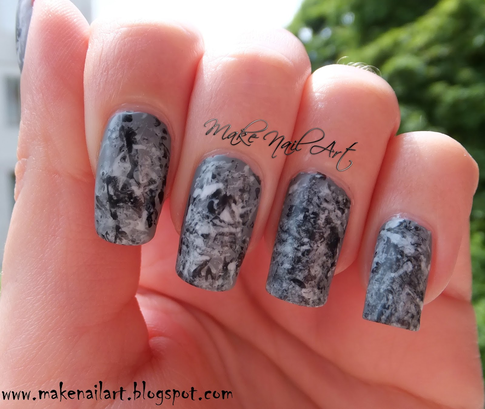 These Stone Marble Nails Are Perfect For Everyday And Any Occasion This Design Is Very Unique Interesting The Final Result Different Every Time