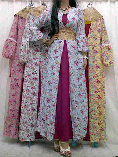 Gamis Katun + Obi fit to L
