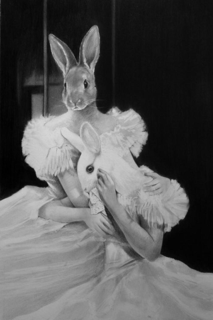 Сюрреалистические изображения людей в облике животных. Lee Boyd