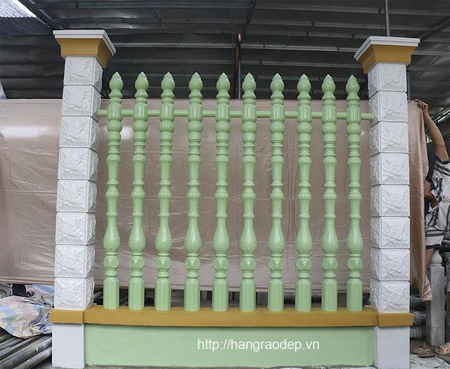MẪu hàng rào bê tông thiên Ý